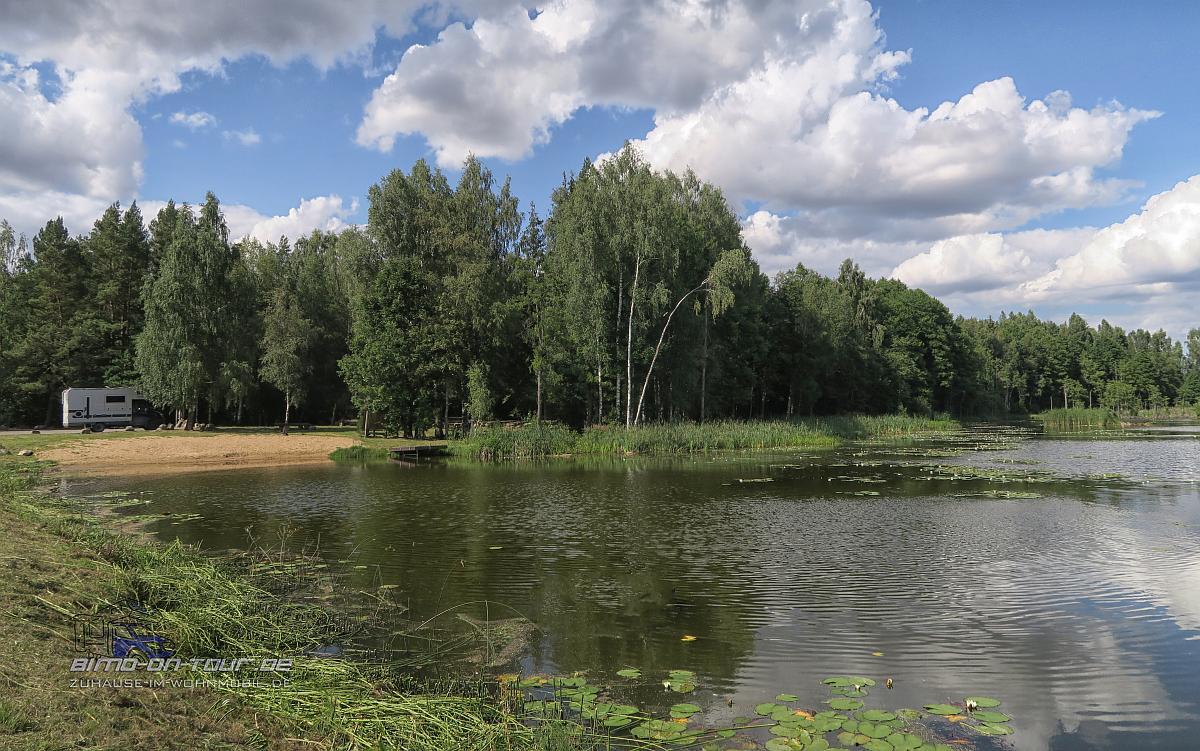 Šaukliai-Übernachtungsplatz