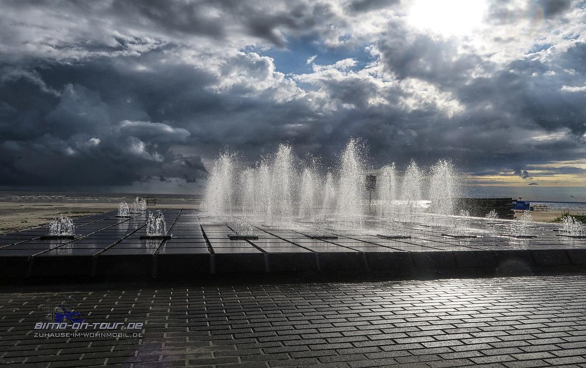 Pärnu Strand-Springbrunnen