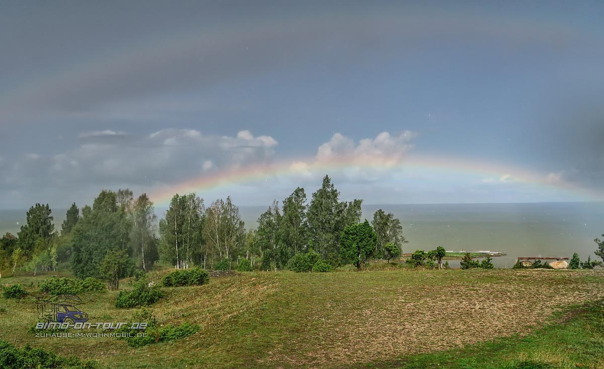 Wetterkapriolen - Regenbogen